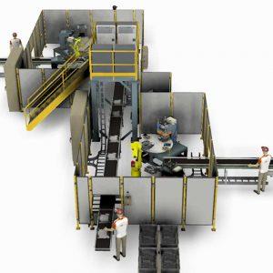 rendering impianti industriali